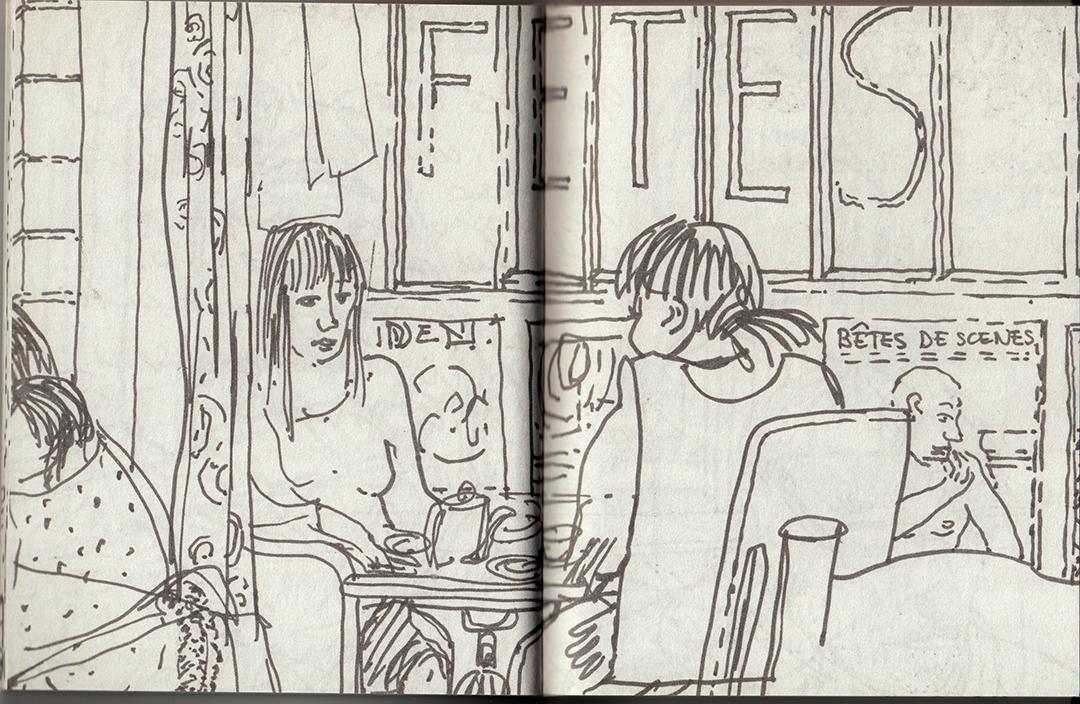 dessins de Michèle antoine